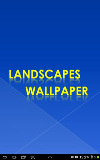Landscapes Wallpaper HD