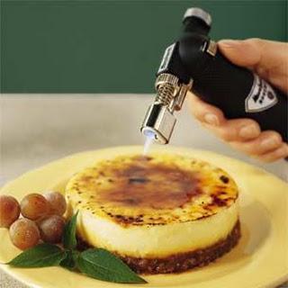 Caramel Nut Cheesecake Brûlée
