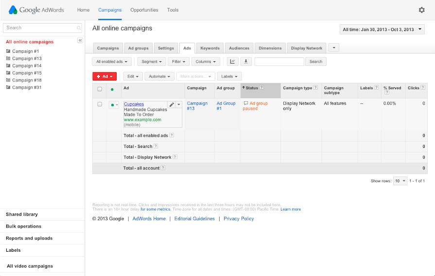 Cómo editar sus anuncios de texto - Anterior - Ayuda de Google Ads