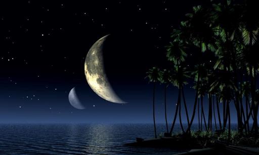 美麗的月亮壁紙