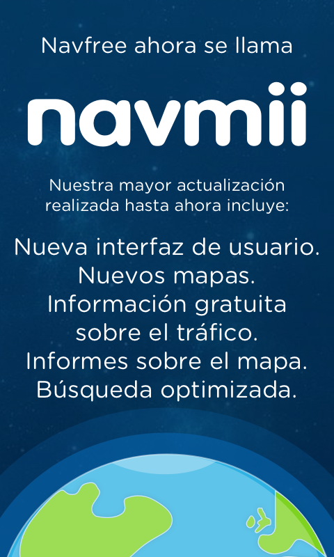 Navmii GPS Mundo (Navfree) - screenshot