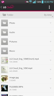 LG Cloud- screenshot thumbnail