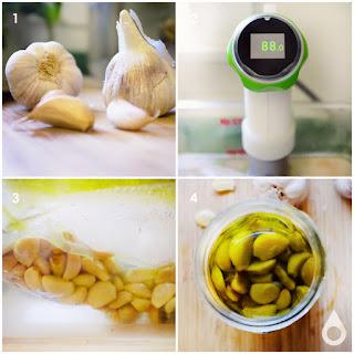 Sous Vide Garlic Confit