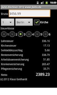 Jlohn-Rechner- screenshot thumbnail