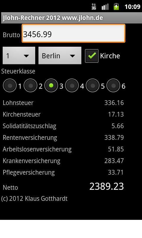 Jlohn-Rechner- screenshot
