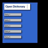 OpenDictionary