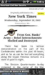 1861 Dec Am Civil War Gazette - screenshot thumbnail