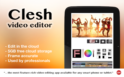 Clesh Video Editor: miniatura de captura de pantalla