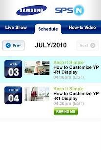 Samsung SPSN- screenshot thumbnail