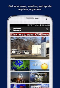 KAKE News- screenshot thumbnail