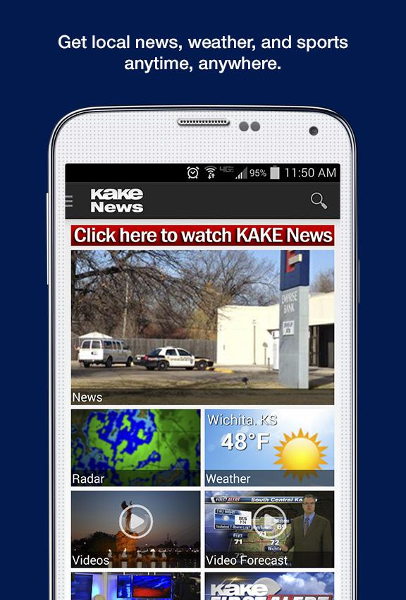 KAKE News- screenshot