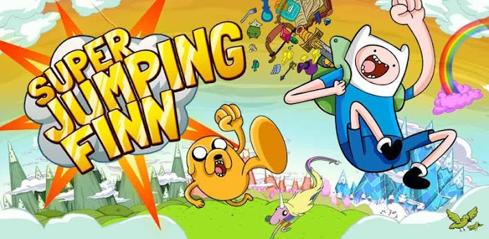 Super Jumping Finn (Супер прыгун Финн) - отличный jumping для Андроид