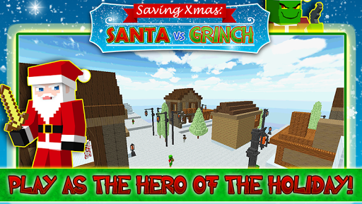 Saving Xmas - Santa Vs Grinch