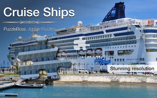 Cruise Ship Jigsaw Puzzles