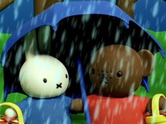 Miffy and Barbara in the Rain/Miffy Lost at the Beach