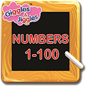 UKG- Math's - Numbers 1 to 100 icon