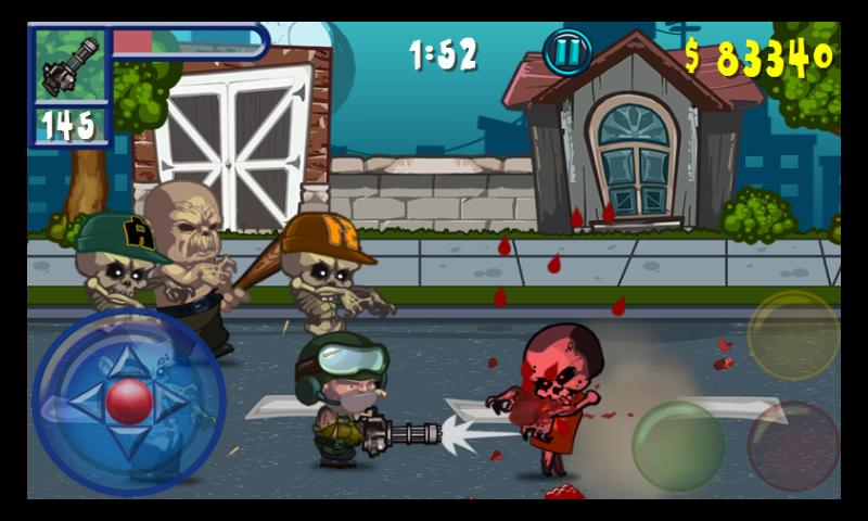 Zombie War - screenshot