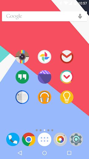 玩個人化App|FlatDroid - Icon Pack免費|APP試玩