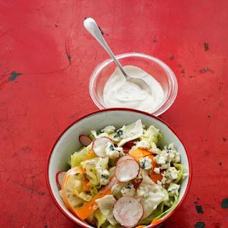 Radish Salad with Blue Cheese