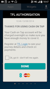 EE Tap Wallet - Cash on Tap- screenshot thumbnail