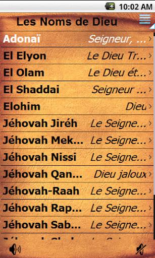 Les Noms de Dieu