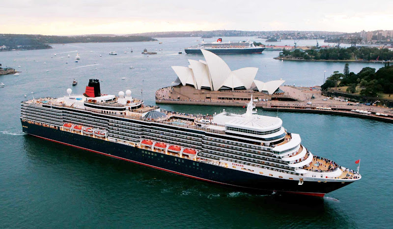 Get a close-up view of some of Sydney's most famous landmarks while Queen Elizabeth sails its coast.