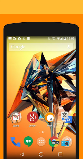 Objects Orange PA CM11 Theme