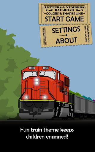 【免費教育App】Colors & Shapes Railroad-APP點子