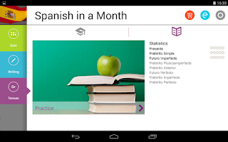Screenshot of Spanish in a Month Free