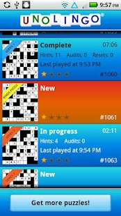 Unolingo: No Clue Crosswords- screenshot thumbnail