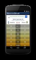 Screenshot of Risultati Serie A