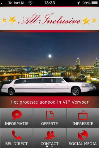 All-Inclusive VIP Vervoer