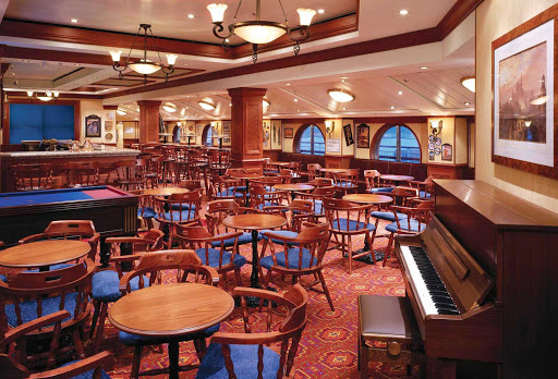 Norwegian-Dawn-Pearly-Kings - Have a beer, watch some TV, even play some English pool at Norwegian Dawn's pub, the Pearly Kings Pub.