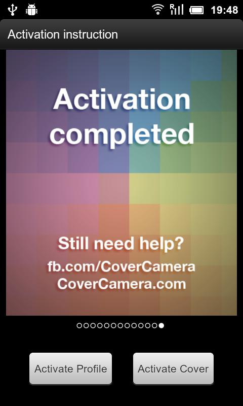 CoverCamera for Social - screenshot
