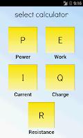 Screenshot of Electrical Calculator