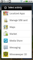 Screenshot of Localized Apps