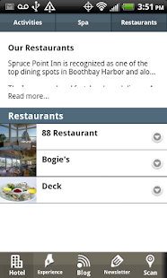 Spruce Point Inn- screenshot thumbnail