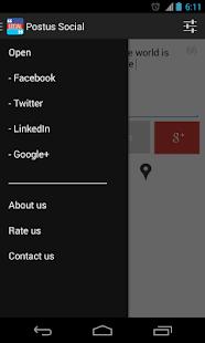 Postus Twitter,Facebook & More- screenshot thumbnail