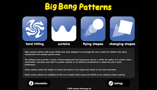Big Bang Patterns- screenshot thumbnail