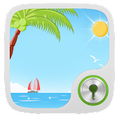 Summer beach GO Locker Theme