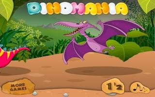 Screenshot of Dinomania - Connect Dots