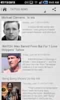 Screenshot of Tattoo Gallery