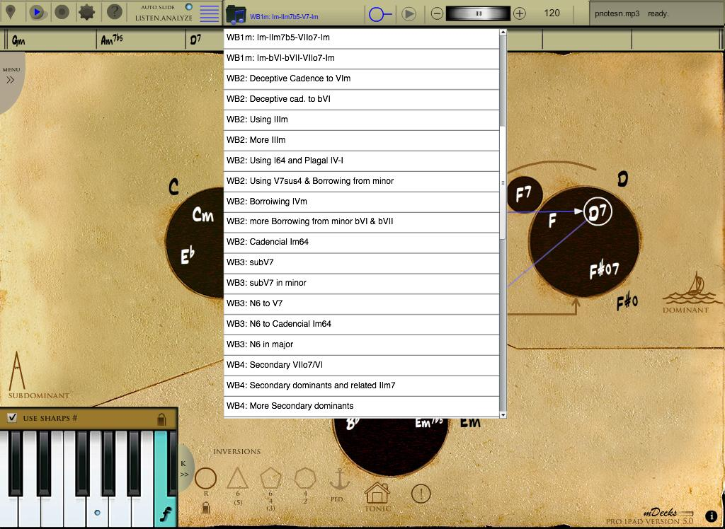 Mapping Tonal Harmony Pro - screenshot