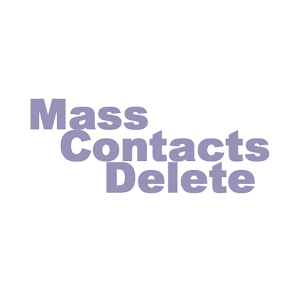 how to mass delete contacts on iphone