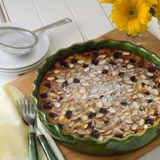 Gluten Free Cherry Almond Clafoutis