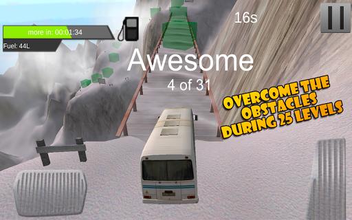 Bus Hill Climbing 3D