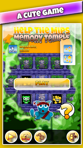 Memory Temple : Match Pairs
