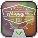 New Year Live Locker Theme icon