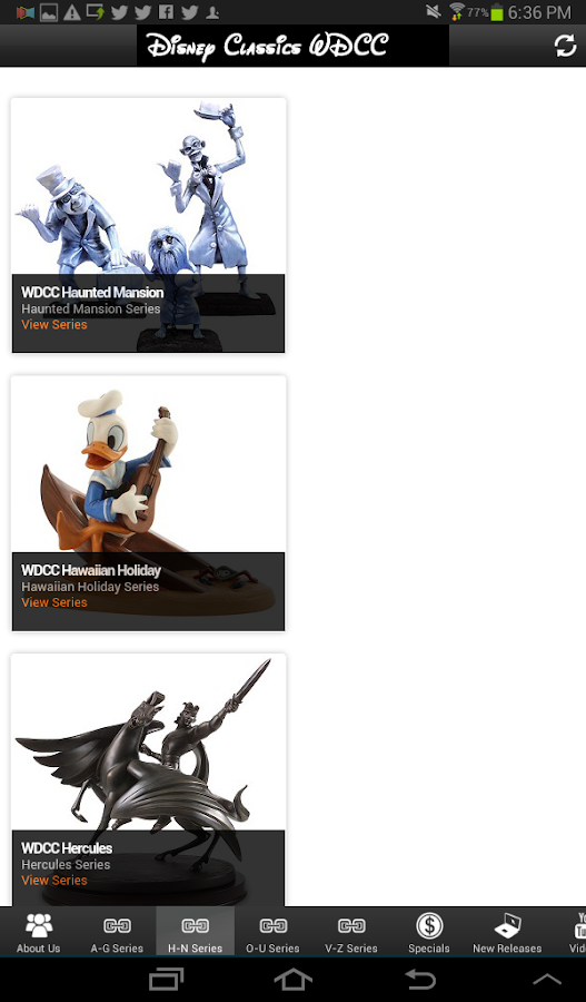 Disney Classics Figurines WDCC- screenshot