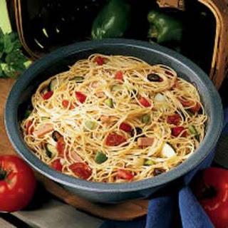 Spaghetti Pasta Salad.